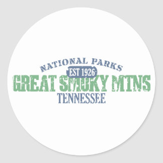 Great Smoky Mtns National Park Sticker