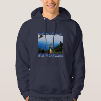 Great Smoky Mtns North Carolina Adult Hoodie