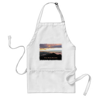 Great Smoky Mtns Sunset Aprons