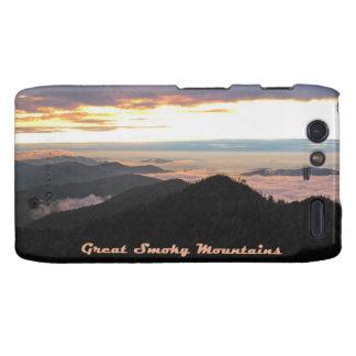 Great Smoky Mtns Sunset Motorola Droid RAZR Case