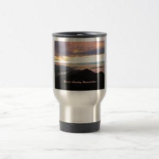 Great Smoky Mtns Sunset Coffee Mugs