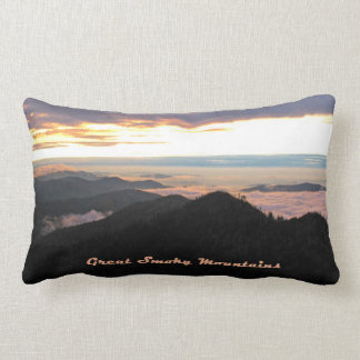 Great Smoky Mtns Sunset Cushions