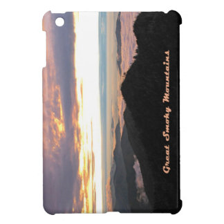 Great Smoky Mtns Sunset iPad Mini Covers