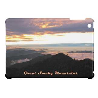 Great Smoky Mtns Sunset iPad Mini Cases
