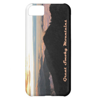Great Smoky Mtns Sunset iPhone 5C Case