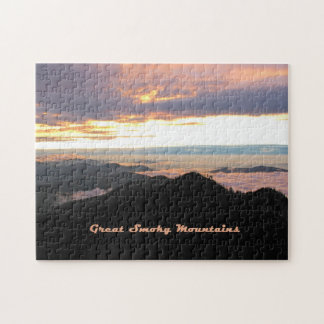 Great Smoky Mtns Sunset Jigsaw Puzzle
