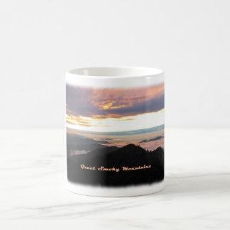 Great Smoky Mtns Sunset Mugs