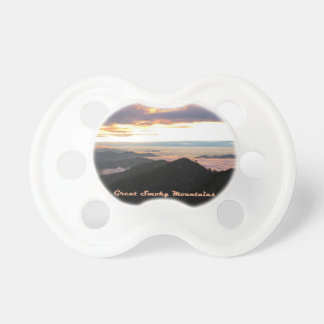 Great Smoky Mtns Sunset Pacifier