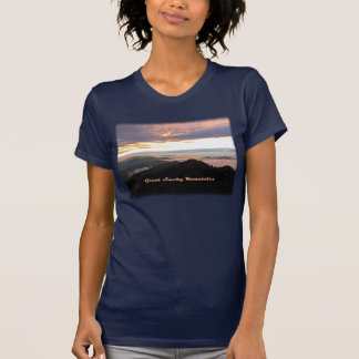 Great Smoky Mtns Sunset Tshirt