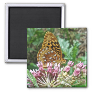 Great Spangled Fritillary Coordinating Items Square Magnet