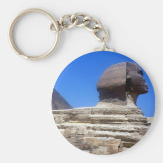 great sphinx basic round button key ring