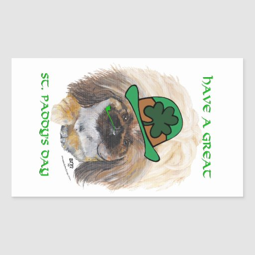Great St Paddys Day Rectangular Stickers
