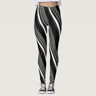 Great Stipes and Curves Leggings