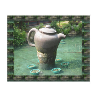 GREAT  Tea Garden of China Stretched Canvas Prints