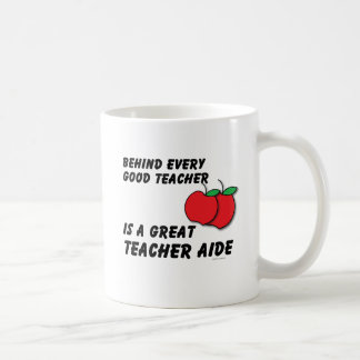 Great Teacher Aide Basic White Mug