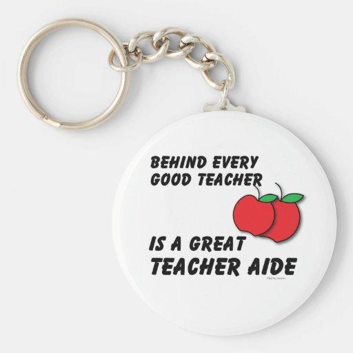 Great Teacher Aide Keychain