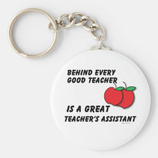 Great Teacher's Assistant Key Ring
