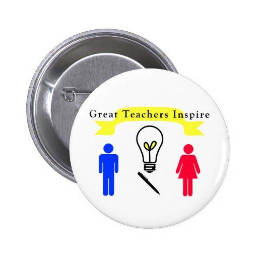 Great Teachers Inspire Buttons