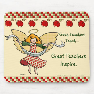 Great Teachers Inspire Mouse Pad