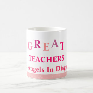 Great Teachers - Pink Coffee Mug