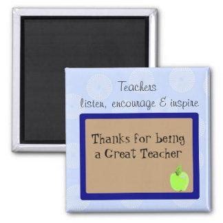 Great Teachers Saying Magnet
