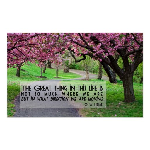 Great Thing In Life Motivational Poster