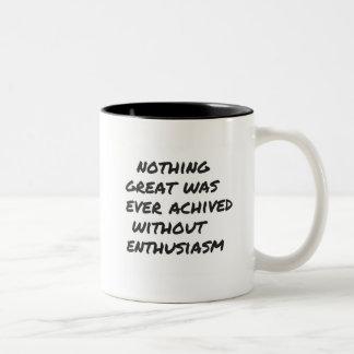 Great Things enthusiasm Mug