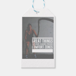 Great Things Never Came From Comfort Zones Gift Tags