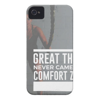 Great Things Never Came From Comfort Zones iPhone 4 Cover