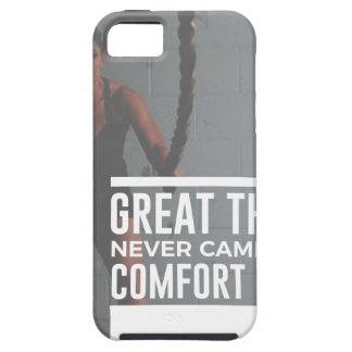 Great Things Never Came From Comfort Zones iPhone 5 Cover