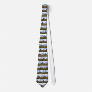 Great Things Take Time Mountains Landscape Tie