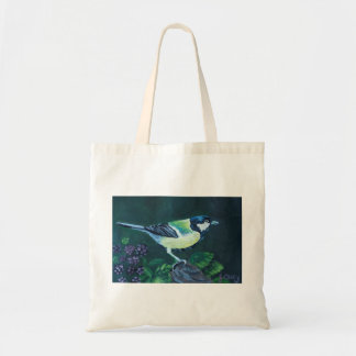 Great Tit art by Joanne Casey Tote