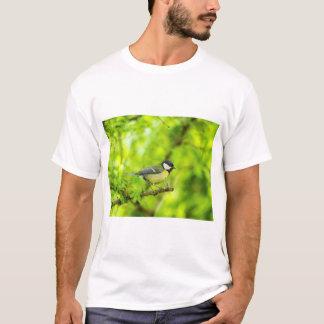 Great tit, parus major T-Shirt