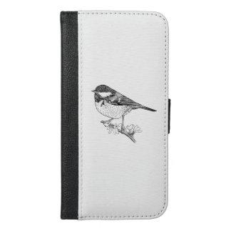 Great Tit Wallet Phone Case, British Bird