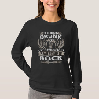 Great To Be BOCK T-shirt