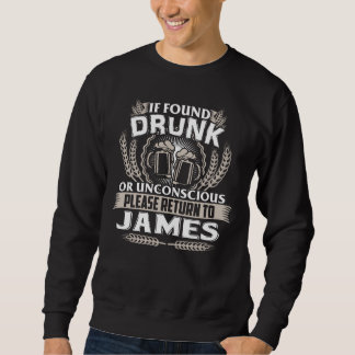Great To Be JAMES T-shirt