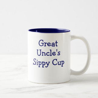 Great Uncle's sippy cup