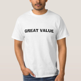 Great Value T-Shirt