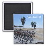 Great Venice Beach Magnet! Square Magnet