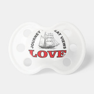 great view of love baby pacifier