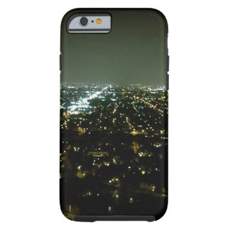 Great View Overlooking the City Lights at Night Tough iPhone 6 Case