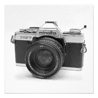 Great Vintage Camera Print/Poster! Photo Print