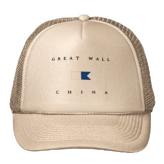 Great Wall China Alpha Dive Flag Cap