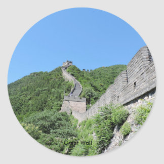 Great Wall Classic Round Sticker