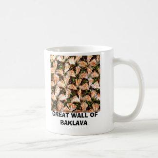 GREAT WALL OF BAKLAVA COFFEE MUG