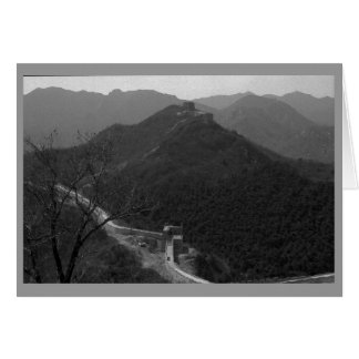 """Great Wall of China #1"" Card"