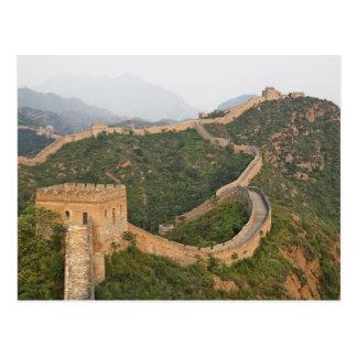 Great Wall of China at Jinshanling, China, Asia Postcard