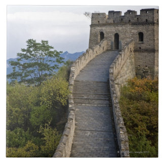 Great Wall of China at Mutianyu 3 Ceramic Tile