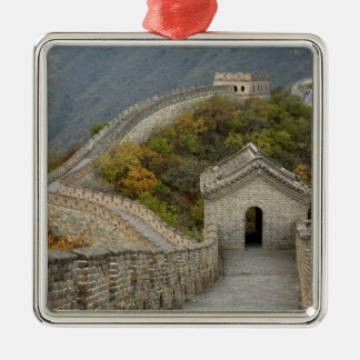 Great Wall of China at Mutianyu Metal Ornament