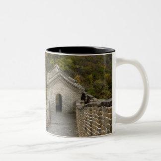 Great Wall of China at Mutianyu Two-Tone Coffee Mug